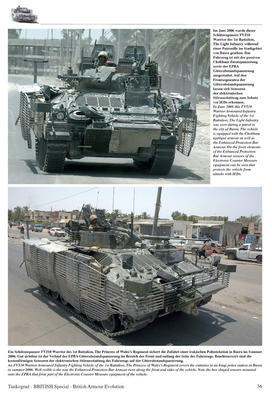 British Armour Evolution  - 5