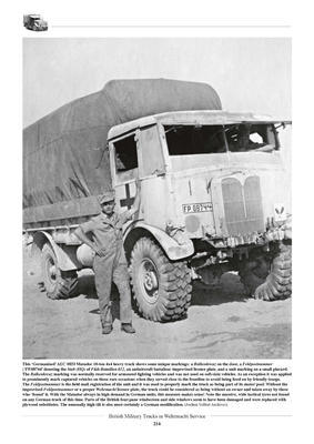 British Military Truck in Wehrmacht Service - 5