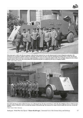 WWI Panzer-Kraftwagen Armour Cars of the German Army and Freikorps - 5