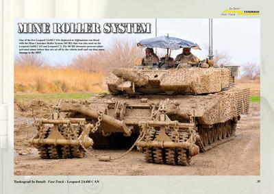 Leopard 2A4M CAN Canadian Main Battle Tank  - 5