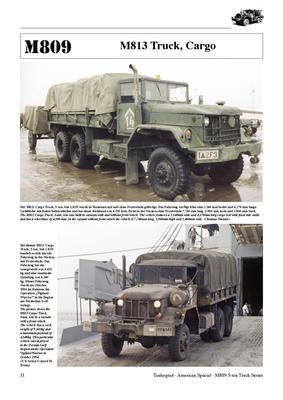M809 5-ton 6x6 Truck Series - 5