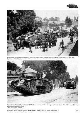 WWI Beute-Tanks British Tanks in German Servise vol.2 - 5