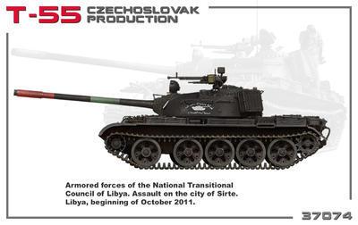 T-55 Czechoslovak Production  - 5