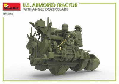U.S. Armored Tractor with Angle Dozer Blade + 1fig.  - 5