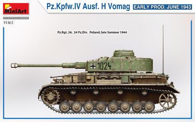 Pz.Kpfw.IV Ausf. H Vomag. EARLY PROD. JUNE 1943 - 5