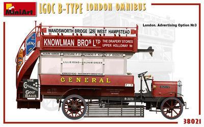 LGOC B-Type London Omnibus - 5