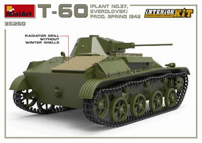 T-60 Plant N.37 Sverdlovsk Prod. Spring 1942 - 5