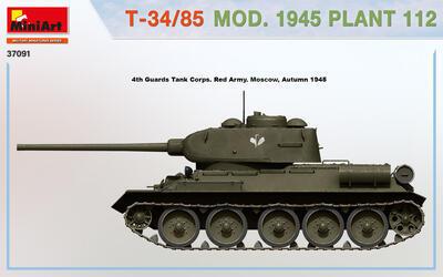 T-34/85 MOD. 1945. PLANT 112 - 5