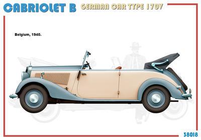 Cabriolet B Type 170V German Car  - 5