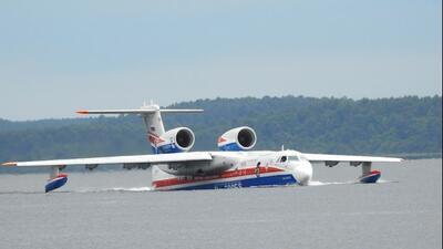 Beriev BE -200ES Russian Multi-Role Amphibious Aircraft - 6