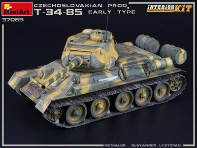 T-34/85 Czechoslovak Production Early Type - 6