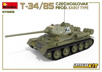 T-34/85 Czechoslovak Production Early Type - 6