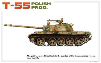 T-55 Polish Prod.  - 6