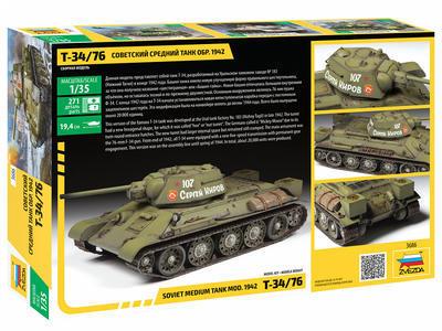 Soviet medium tank T-34/76 mod. 1942 - 6