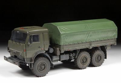 "Russian Three Axle Truck K-5350 ""Mustang"" - 6"