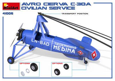 AVRO Cierva C.30A Civilian Service: OK-ATS Baťa - 6