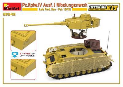 Pz.Kpfw.IV Ausf. J Nibelungenwerk Late Prod. (Jan – Feb 1945) INTERIOR KIT - 6