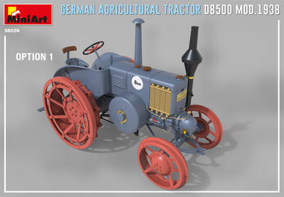 GERMAN AGRICULTURAL TRACTOR D8500 MOD. 1938 - 6