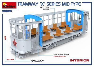 "TRAMWAY ""X"" SERIES MID TYPE - 6"