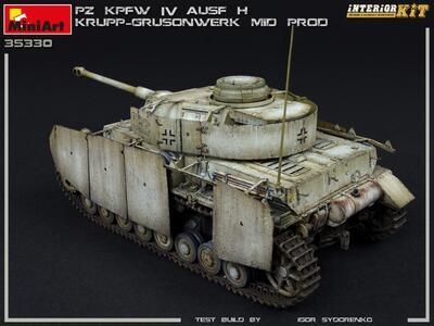 Pz.Kpfw.IV Ausf. H KRUPP-GRUSONWERK. MID PROD. AUG-SEP 1943. INTERIOR KIT - 6