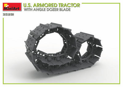 U.S. Armored Tractor with Angle Dozer Blade + 1fig.  - 6