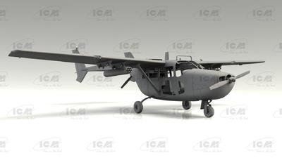 Cessna O-2A Skymaster, American Reconnaissance Aircraft - 6