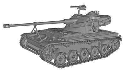 French Light Tank AMX-13/75 - 6