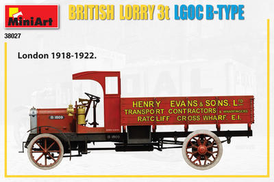 British Lorry 3T LGOC B-Type - 6