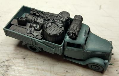 Type 2,5-32 Wehrmacht, Light Truck 1,5t Africa with cargo  - 6