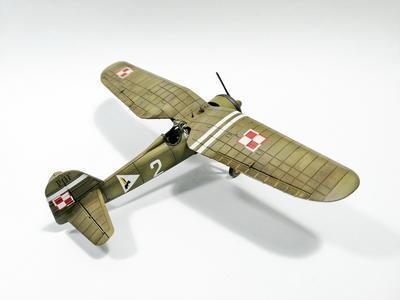 PZL P.11a - Polish Fighter Plane - přijímáme předobjednávky - pre/orders - 6