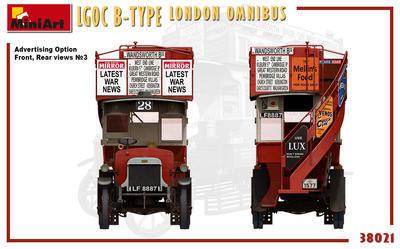 LGOC B-Type London Omnibus - 6