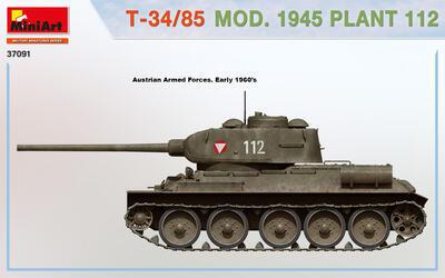 T-34/85 MOD. 1945. PLANT 112 - 6