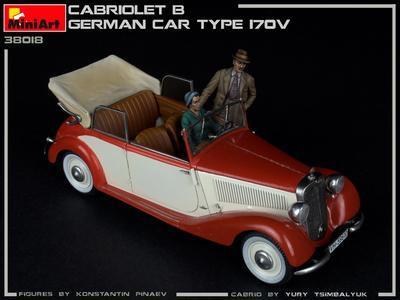 Cabriolet B Type 170V German Car  - 6