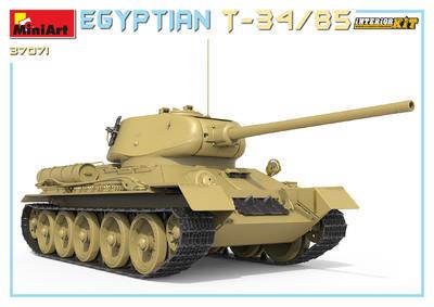 EGYPTIAN T-34/85. INTERIOR KIT - 7