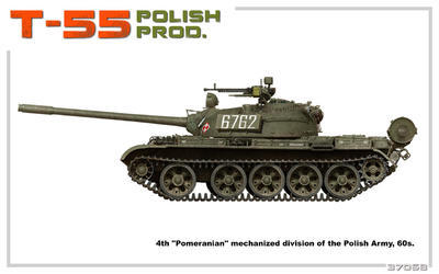 T-55 Polish Prod.  - 7