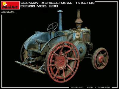 GERMAN AGRICULTURAL TRACTOR D8500 MOD. 1938 - 7