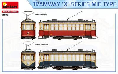 "TRAMWAY ""X"" SERIES MID TYPE - 7"