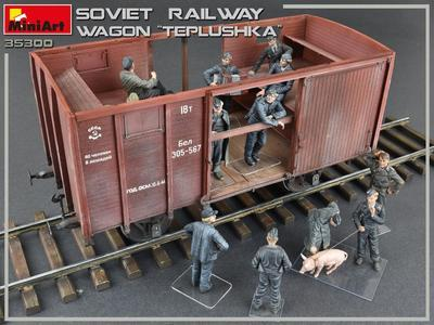 "Soviet Railway Wagon ""Teplushka""  - 7"