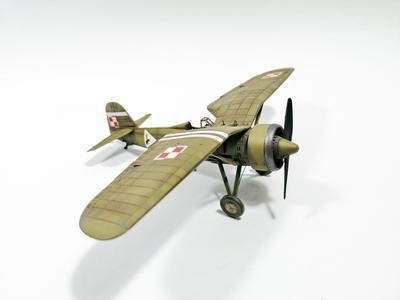 PZL P.11a - Polish Fighter Plane - 7