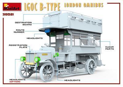 LGOC B-Type London Omnibus - 7