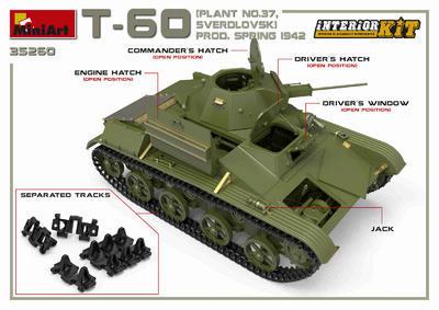T-60 Plant N.37 Sverdlovsk Prod. Spring 1942 - 7