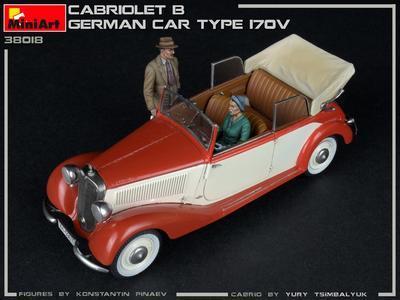 Cabriolet B Type 170V German Car  - 7