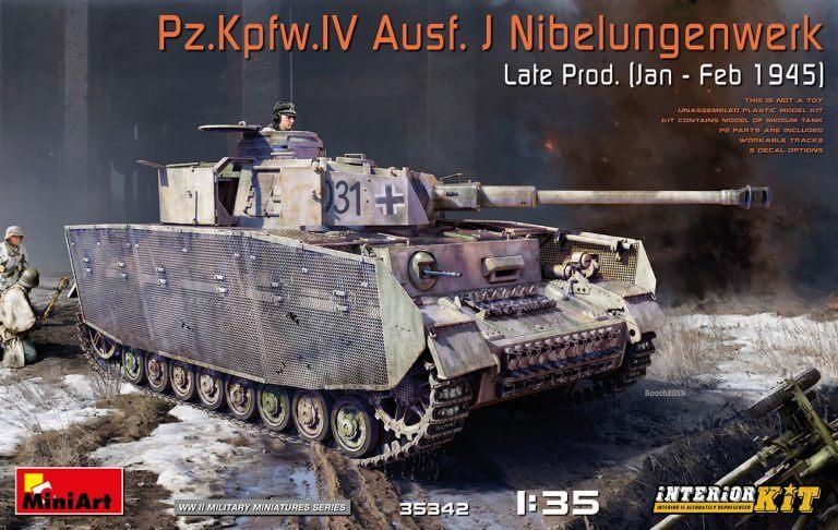 35342 Pz.Kpfw.IV Ausf. J Nibelungenwerk Late Prod.    (Jan – Feb 1945) INTERIOR KIT - foto 00