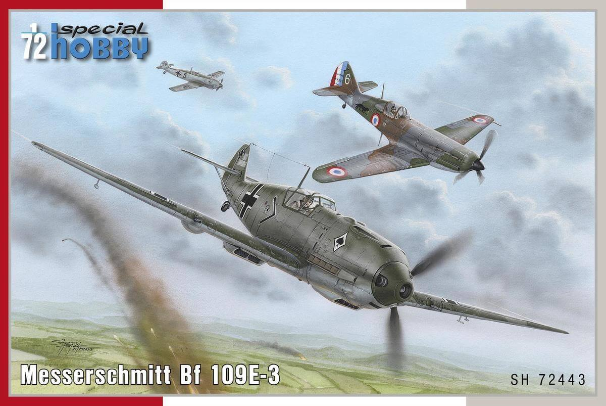 Messerschmitt Bf 109E-3  - foto 0