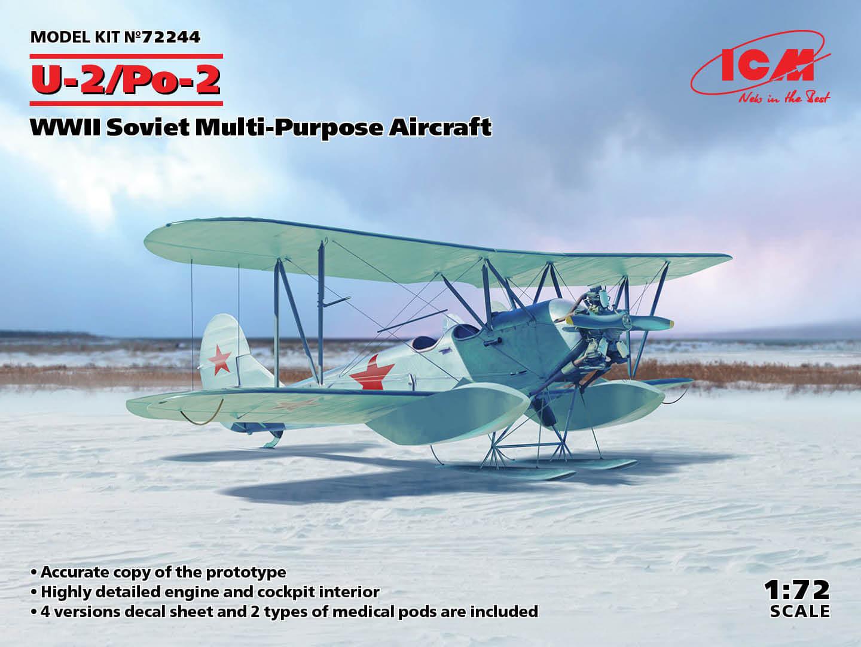 2244 U-2/Po-2, WWII Soviet Multi-Purpose Aircraft