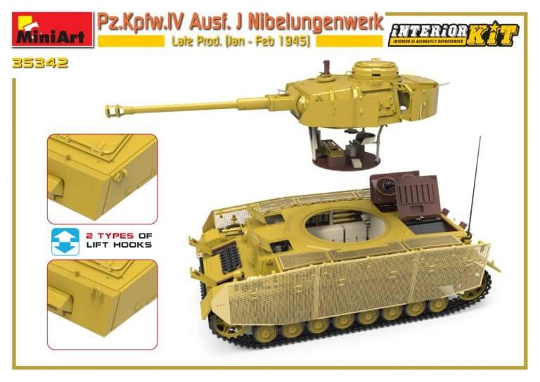 35342 Pz.Kpfw.IV Ausf. J Nibelungenwerk Late Prod.    (Jan – Feb 1945) INTERIOR KIT - foto 02