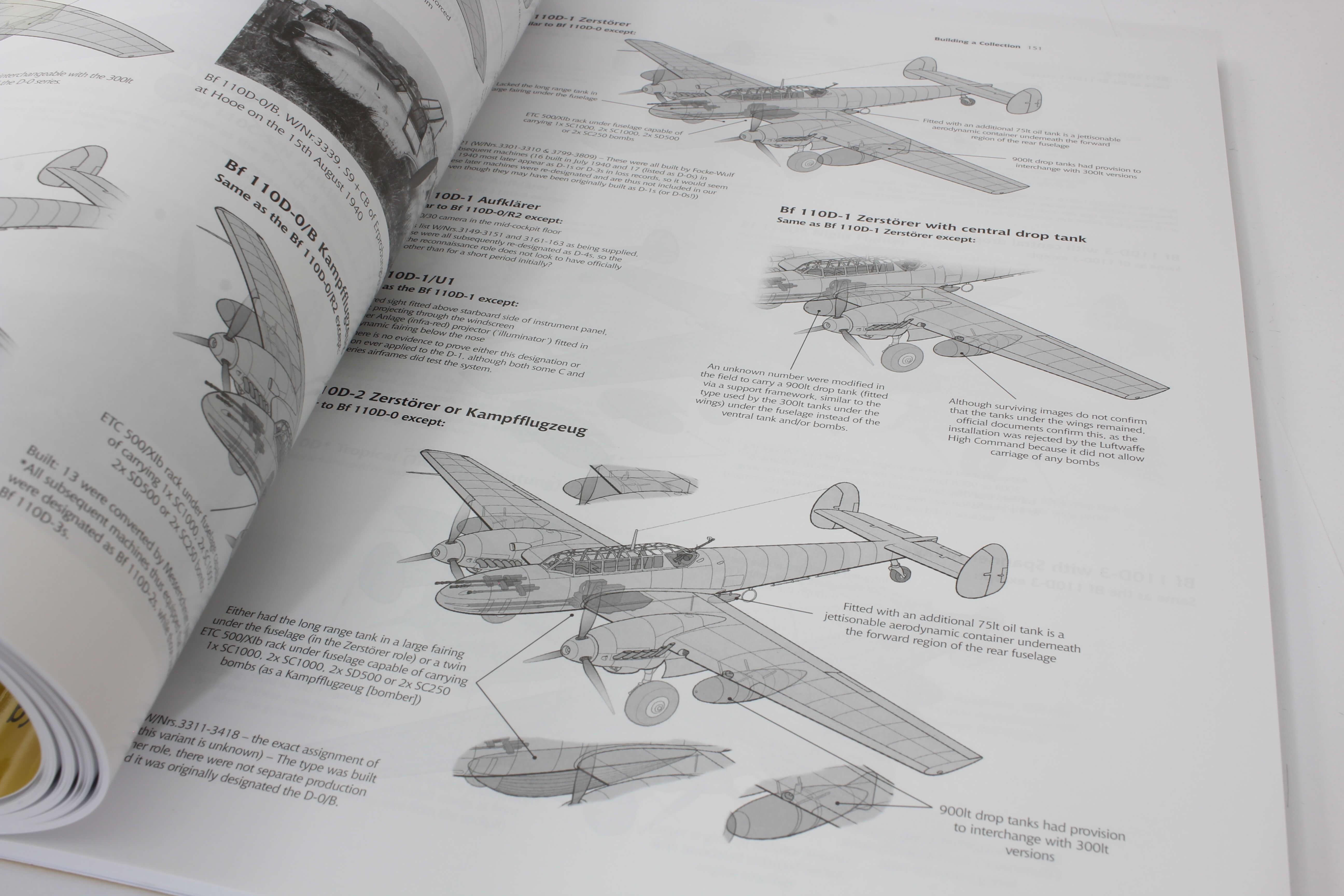 Airframe & Miniature No.17 The Messerschmitt Bf 110   – A Complete Guide To The Luftwaffes Famous Zestörer_ foto 6