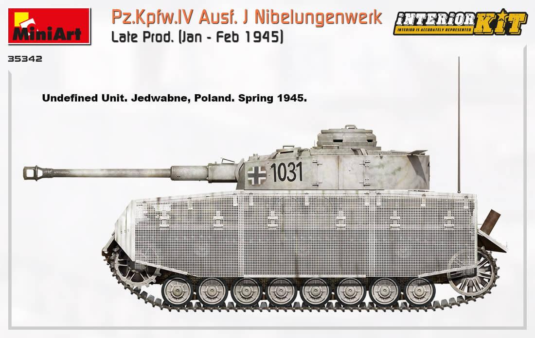 35342 Pz.Kpfw.IV Ausf. J Nibelungenwerk Late Prod.    (Jan – Feb 1945) INTERIOR KIT - foto 16
