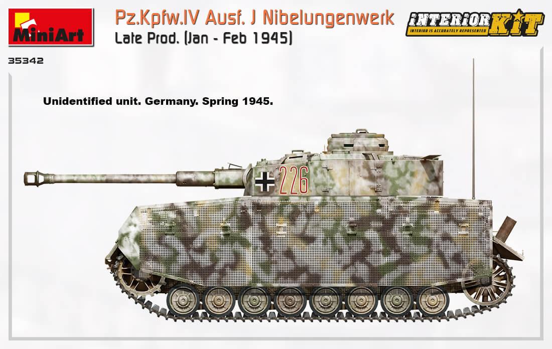 35342 Pz.Kpfw.IV Ausf. J Nibelungenwerk Late Prod.    (Jan – Feb 1945) INTERIOR KIT - foto 18