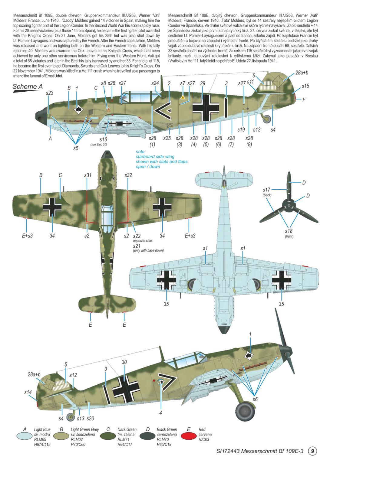 Messerschmitt Bf 109E-3  - foto 8-1